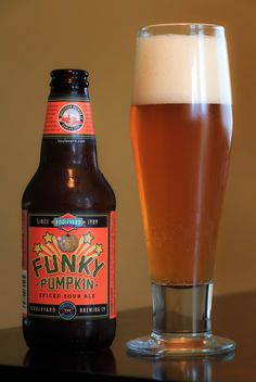 Funky Pumpkin / Boulevard Brewing / Sour Ale / ABV / How funky is your. We love finding the unique. A sour pumpkin.yeah, that's funky alright. Great sour with just the right amount of pumpkin and plenty of funk :) All Beer, Best Beer, Beer Maker, Pumpkin Beer, Beer Food, Beer Art, Beers Of The World, Wine And Liquor, Homebrewing