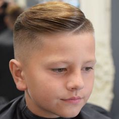 Cool 12 Year Old Fade Haircut Styles For Boys - Best Boys Haircuts: Cool Hairstyles For Little Boys and Tween Kids Popular Hairstyles For Boys, Best Hairstyle For Kids, Trendy Boys Haircuts, Boy Haircuts Short, Little Boy Hairstyles, Cool Haircuts, Hairstyles Haircuts, Haircuts For Men, Cool Hairstyles