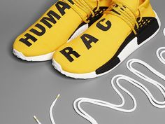 Restock Adidas Pharrell Williams Adidas NMD Human Race Yellow