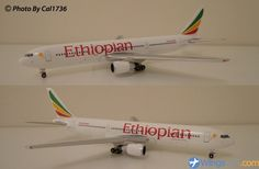 Gemini Jets 1:400 Ethiopian Airlines B 767-360ER - Wings900 ID# 12361