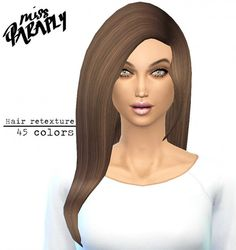 Miss Paraply: David Sims Star Hairstyle Retextured • Sims 4 Downloads