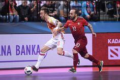 Ricardinho faz mais um golaço, mas Portugal cai diante da Espanha na Euro #globoesporte