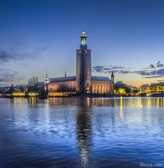 City Hall (Stockholm, Sweden) by Domingo Leiva on 500px