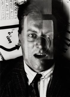 Kurt Schwitters by El Lissitzky
