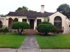 Would love to renovate this spanish style bungalow.