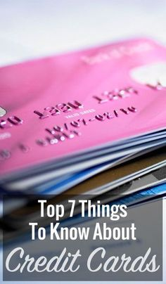 At some point in their lives, most people find themselves getting a little too much credit-card debt built up and are trying to find a way to get themselves out. But most people are more used to comparing cards for rewards programs or considering drastic methods like debt consolidation, settlements, or even bankruptcy. Here are seven things you should know when it's time to get your debt under control. Checking… Debt Payoff, Credit Card Debt #Debt