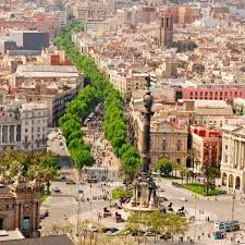 #LaRambla one of the most faous streets in #Barcelona.
