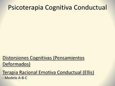 6. distorsiones cognitivas   trec (ellis) by Rodrigo Quiroga via slideshare