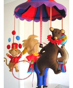 Circus-Inspired Nursery: Decorating Ideas on The Indie Tot