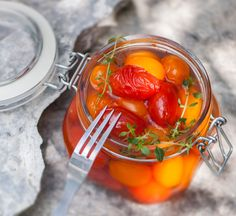 Marinated Tomatoes, Snack Recipes, Snacks, Salad, Stuffed Peppers, Vegetables, Koti, Stove, Waiting