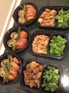 Meal prep 6-8 weeks out
