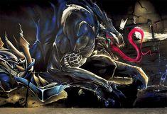 Le Venom en chaire et en graff'…