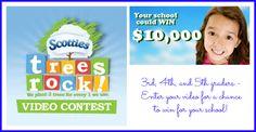 viva veltoro: Scotties TREES ROCK Contest + a $25 Target Gift Card Giveaway!