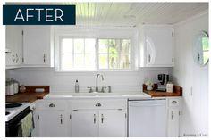 diy white kitchen remodel on a budget | ... Keeping it Cozy [http://keepingitcozy.blogspot.com/search?q=kitchen