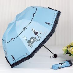 2016 New Arrival Beautiful Girl Pattern Umbrella Rain Women Fashion Arched Princess Umbrellas Female Parasol Creative Gift US041-in Umbrellas from Home & Garden on Aliexpress.com | Alibaba Group