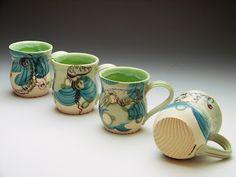 Cephalopod Ink Ceramics: Pottery