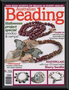 Australian Beading Magazine FRONT COVER   Flickr - Photo Sharing!
