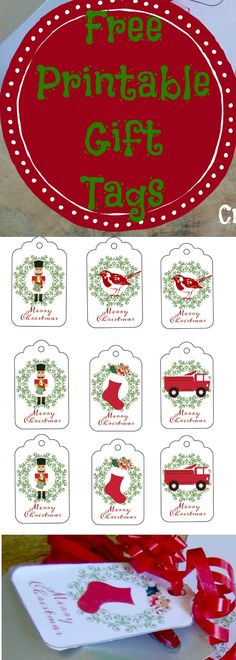 These Christmas gift tags are free. You simply have to print them off on to card stock and cut them out. The Christmas theme is slightly vintage with old style Christmas graphics. These Printable C…