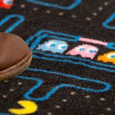 Cooler Pac Man Teppich