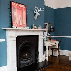 Striking period living room | House tour | PHOTO GALLERY | Ideal Home | Housetohome.co.uk