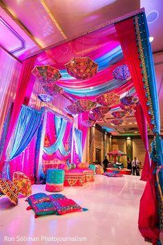 Garba http://www.maharaniweddings.com/gallery/photo/44034 @ElegantAffairs1 #IndianWeddings