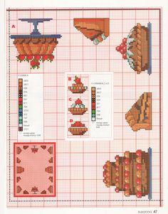 cakes chart