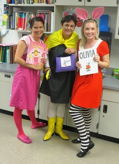 Already thinking about Halloween?  Here are some fun book related costumes for elementary teachers.