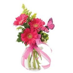 PRETTY FLOWERS IN A VASE | Vases Sale