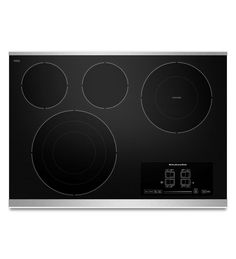 KitchenAid 30 In 4 Element Smooth Surface Induction Electric Cooktop  (Stainless Steel) | *Kitchen Appliances U003e Cooktops* | Pinterest | Steel,  KitchenAid And ...
