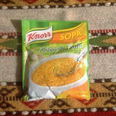 Knorr Fideos con Sabora a Pollo Sopa - Chicken Flavor Pasta Soup Mix