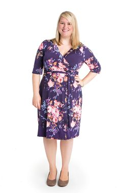 Jenny in the new Cashmerette Patterns Appleton Dress (sizes 12 - 28, cup sizes C - H).
