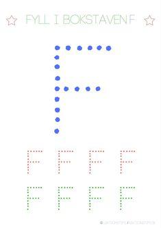Lär dig skriva hela alfabetet med dessa färgglada bokstäver i färgerna röd, grön och blå – Lektionstips Tracing Letters, Line Chart, Cool Kids, Literacy, Communication, Projects To Try, Classroom, Teacher, Lettering