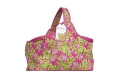 LIlly Pulitzer Insulated Party Cooler Jungle Tumble 10 x 17 x 11 Beach Picnic #LillyPulitzer