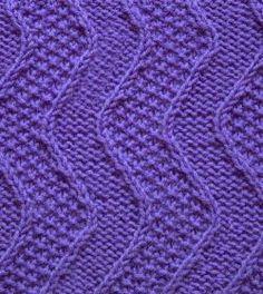 Punto ondulado http://tejidogratis.com/68-puntos-tejidos/punto-ondulado/824-punto-ondulado-arroz-en-dos-agujas.html