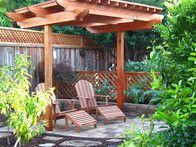 HGTVGardens community member  Debi  shared this photo of her garden pergola, built by her husband.