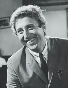 A beautiful rare photograph of a young Gene Wilder. Circa 1968.