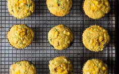 Double Corn, Quinoa & Cheddar Muffins - 21g carb