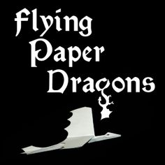 make flying paper dragons, knights, a castle, and other flying paper toys!