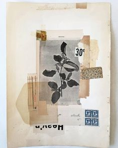 So inspired! The artist Lee McKenna embraces the imperfection of old, used, discarded and damaged paper, to create unique beautiful collages. Her mixed media compositions are mostly made of found p… Collages, Collage Artists, Paper Collage Art, Paper Art, Sunday Paper, Beautiful Collage, Mixed Media Collage, Book Art, Illustration Art