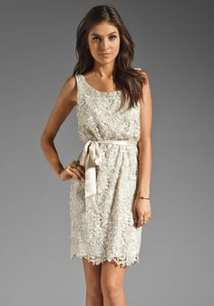 MM COUTURE BY MISS ME Embroidered Dress