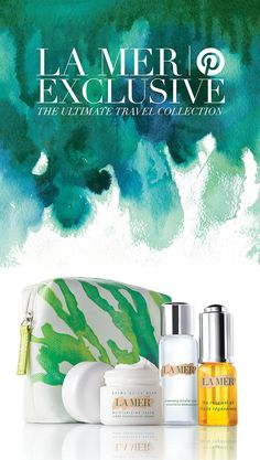 Pinterest Exclusive Set: As destiny finds you in far-flung reaches, travel the world with the Renewal Collection. Ideal for purifying on-the-go, the NEW Cleansing Micellar Water detoxifies and cleanses — no rinsing required. The Renewal Oil, a face oil with sea-sourced actives, replenishes anytime, anywhere. The rich, dewy texture of Crème de la Mer hydrates and soothes. Shop the Renewal Collection at a pinterest-friendly price: http://lamer.co/298fjEk