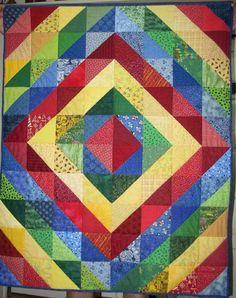 HST quilt ~ would use a different color scheme