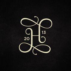 H-monogram by José Design - www.jose-design.nl