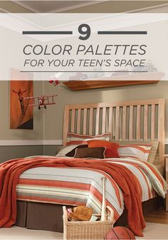 Does Your Little Boy Need A Bedroom Makeover? Start Planning With A  Colorful Blue, Red, Yellow, And Gray BEHR Paint Palette That Is Fun U2026