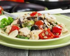 Caprese Salad, Cobb Salad, Wok, Casserole Dishes, Chicken, Kitchen, Recipes, Arts, Html