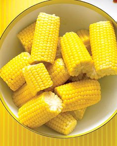 Corn on the cob...Yummy!
