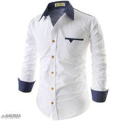 Checkout this latest Shirts Product Name: *Men's Cotton Casual Shirt For Men Full Sleeve* Fabric: Cotton Sleeve Length: Long Sleeves Pattern: Solid Multipack: 1 Sizes: S, M, L, XL Easy Returns Available In Case Of Any Issue   Catalog Rating: ★4 (294)  Catalog Name: Classy Partywear Men Shirts CatalogID_1665231 C70-SC1206 Code: 545-9467854-7041