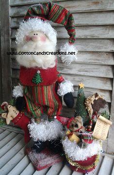 Primitive Pattern  Primitive Christmas Adorable Santa
