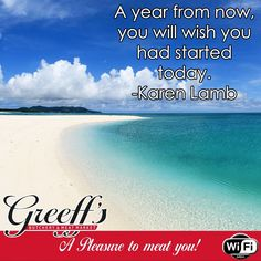 A year from now, you will wish you had started today. -Karen Lamb #Sunday #motivation