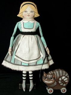 Alicia y su extracción Toy Cheshire